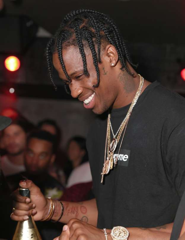 Travis Scott arrested for allegedly inciting a riot