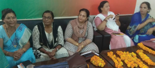 BJP meeting to prepare for the birth centenary visit of Rajmata Vijay Raje Scindia