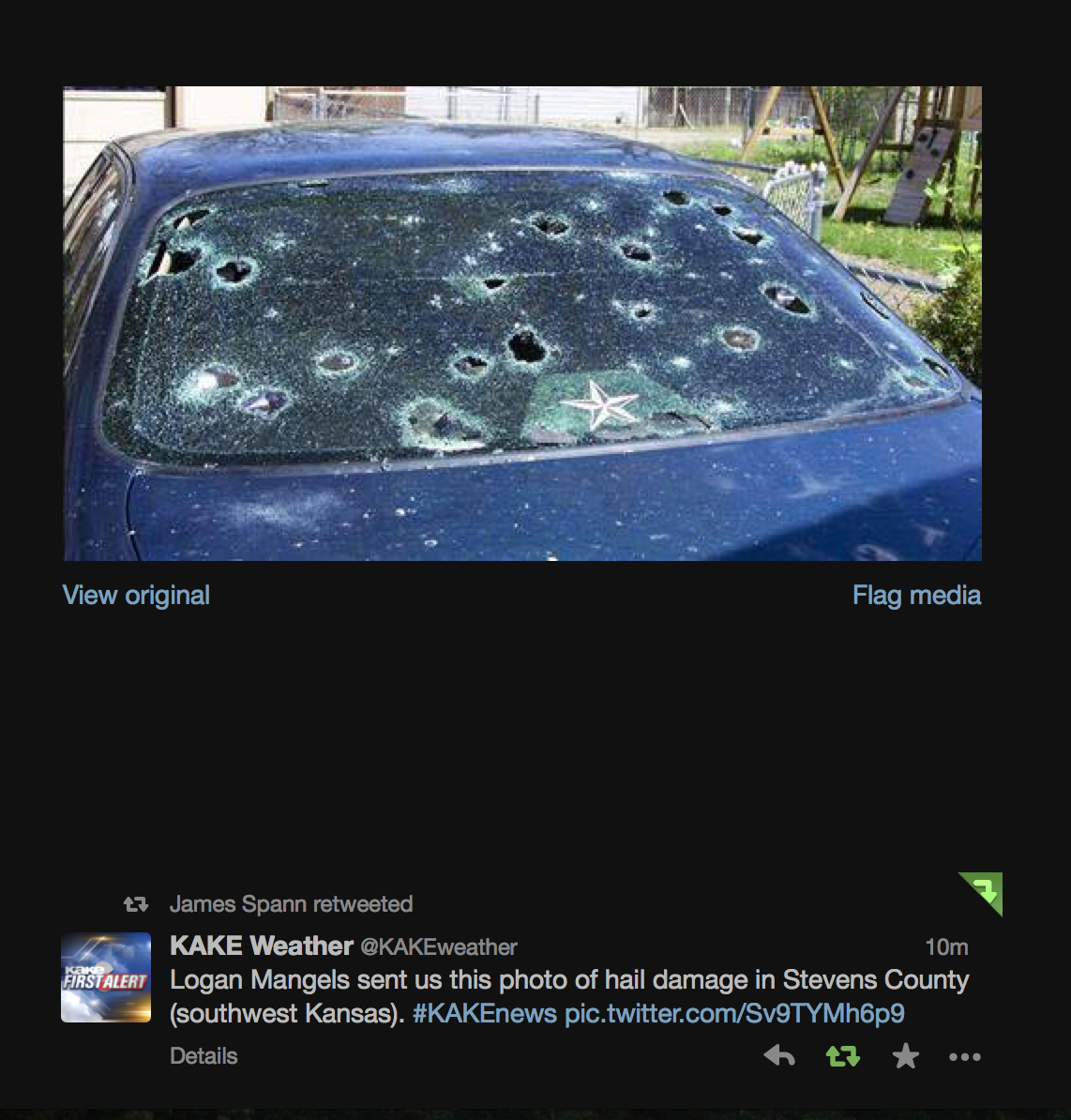 MSE Creative Consulting Blog: Hail Damage!