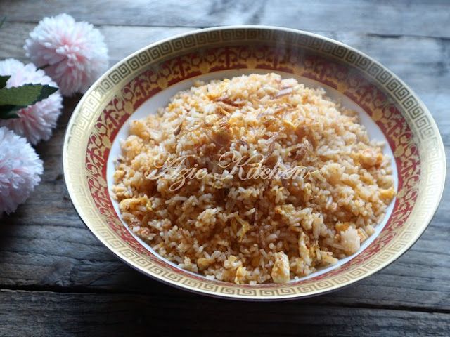 Nasi Goreng Telur Melompat lompat