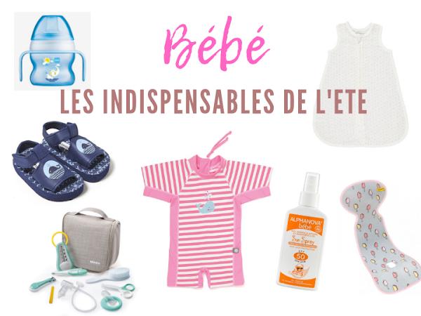 Check list valise : Les indispensables de l'été pour bébé !