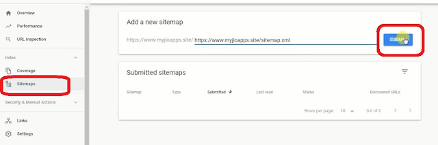 Submit Sitemap To Search Engines