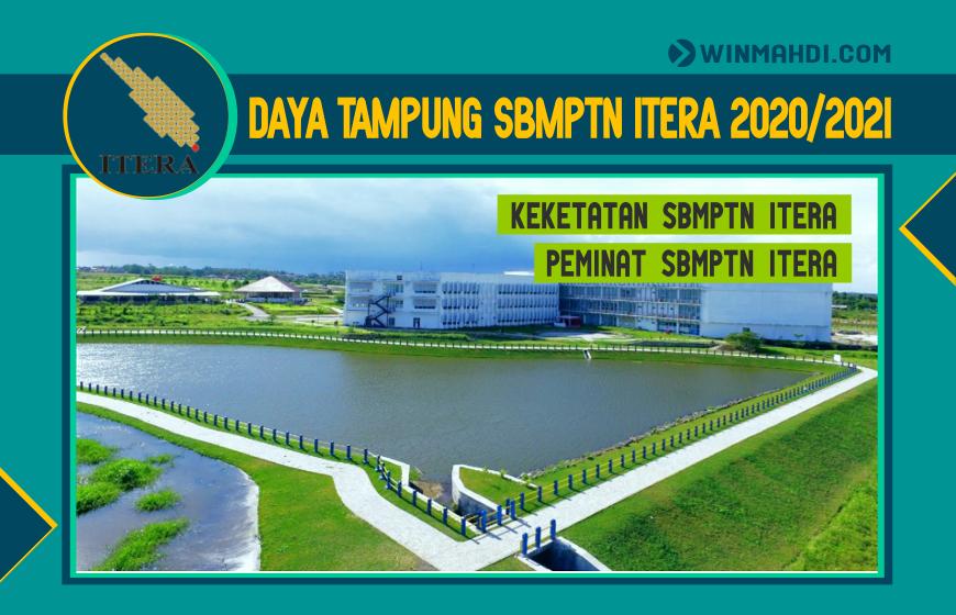 DAYA TAMPUNG SBMPTN ITERA 2020-2021