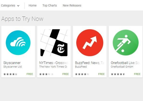Google S New Try Now Button Will Allow You To Test Apps