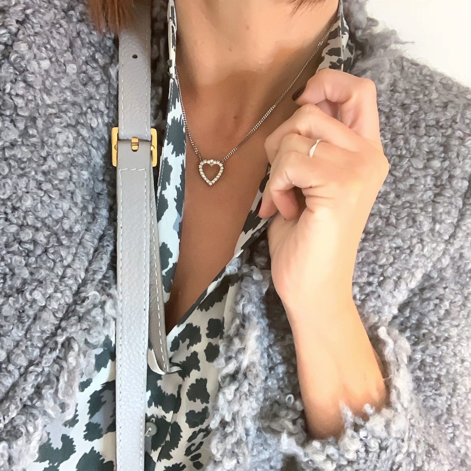 my midlife fashion, iro knitted jacket, somerset by alice temperley leopard print blouse, chloe marcie small cross body bag, j crew 8 inch toothpick jeans, madeleine suede flat boots