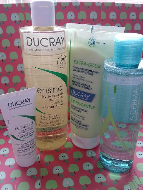 A-DERMA PHYS-AC WODA MICELARNA oraz SENSINOL olejek kojąco-oczyszczający Ducray Dermatological Laboratories