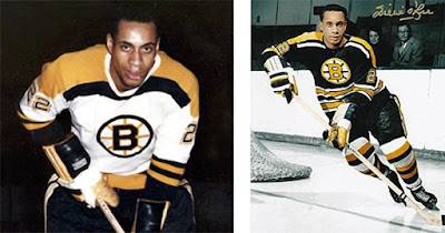 Willie O'Ree, first Black NHL player