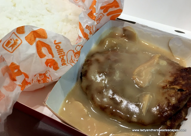 Burger Steak with rice
