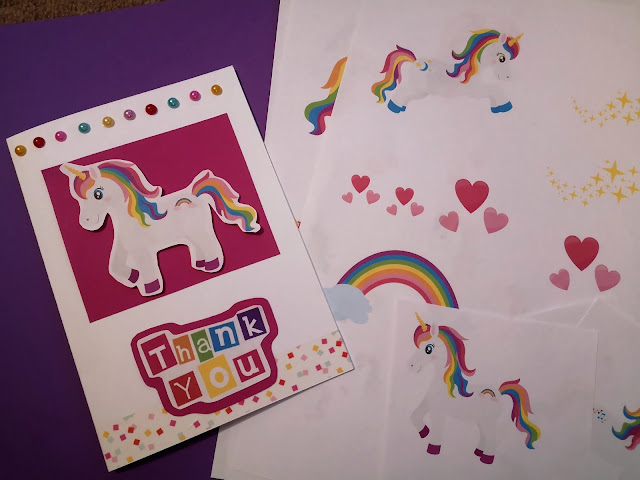 Rainbow unicorn bundle from Design Bundles