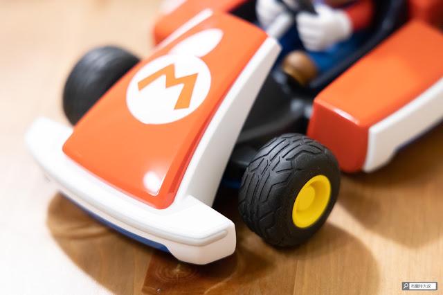 【遊戲】任天堂 AR 競速玩起來《瑪利歐賽車實況:家庭賽車場》 - 實車標配了瑪利歐賽車中的「標準輪胎」