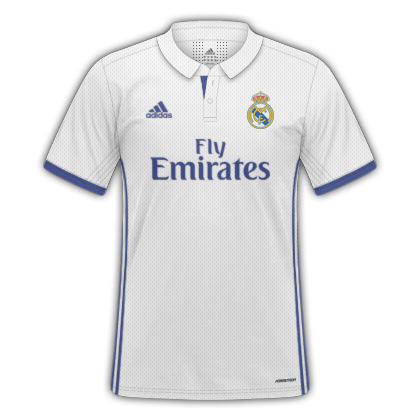 57b45a843ed58 GT Camisas  Camisas Real Madrid 2016   2017 - Home