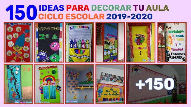 ideas para decorar tu aula