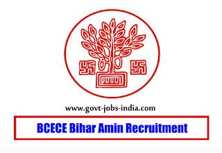 BCECE Bihar Amin Recruitment 2019 – 1767 Amin Vacancy – Last Date 22 January 2020