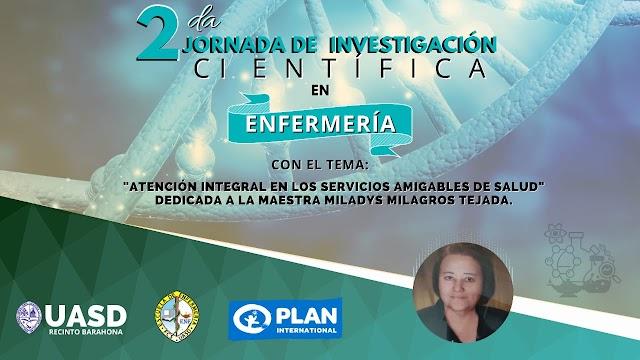 UASD RECINTO BARAHONA lista para su 2da. Jornada de Investigación Científica en Salud este viernes 17