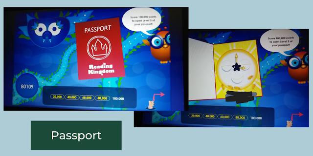Passport on Reading Kingdom