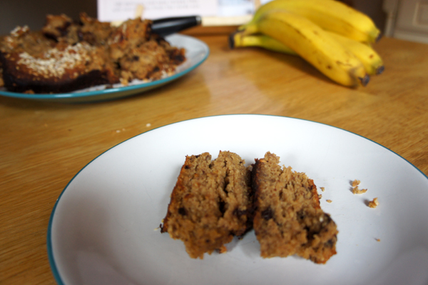 a banana bread disaster