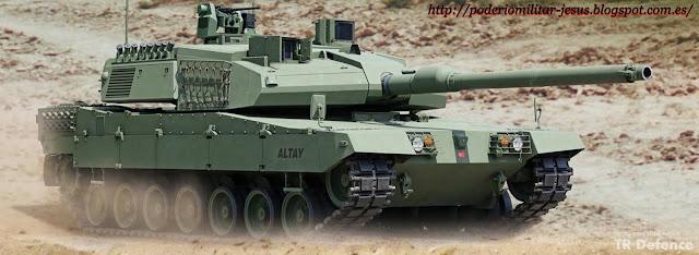 Otokar para iniciar la producción en masa de 250 carros de combate Altay. Tanque%2BAltay