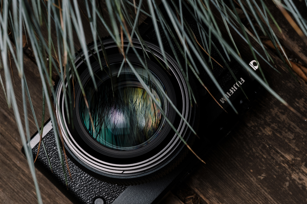 Fujinon GF 80mm f/1.7 R WR с камерой
