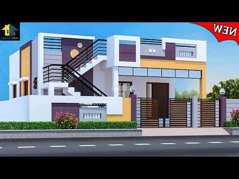 12 Unique 3d home Design idea with Modern House plan