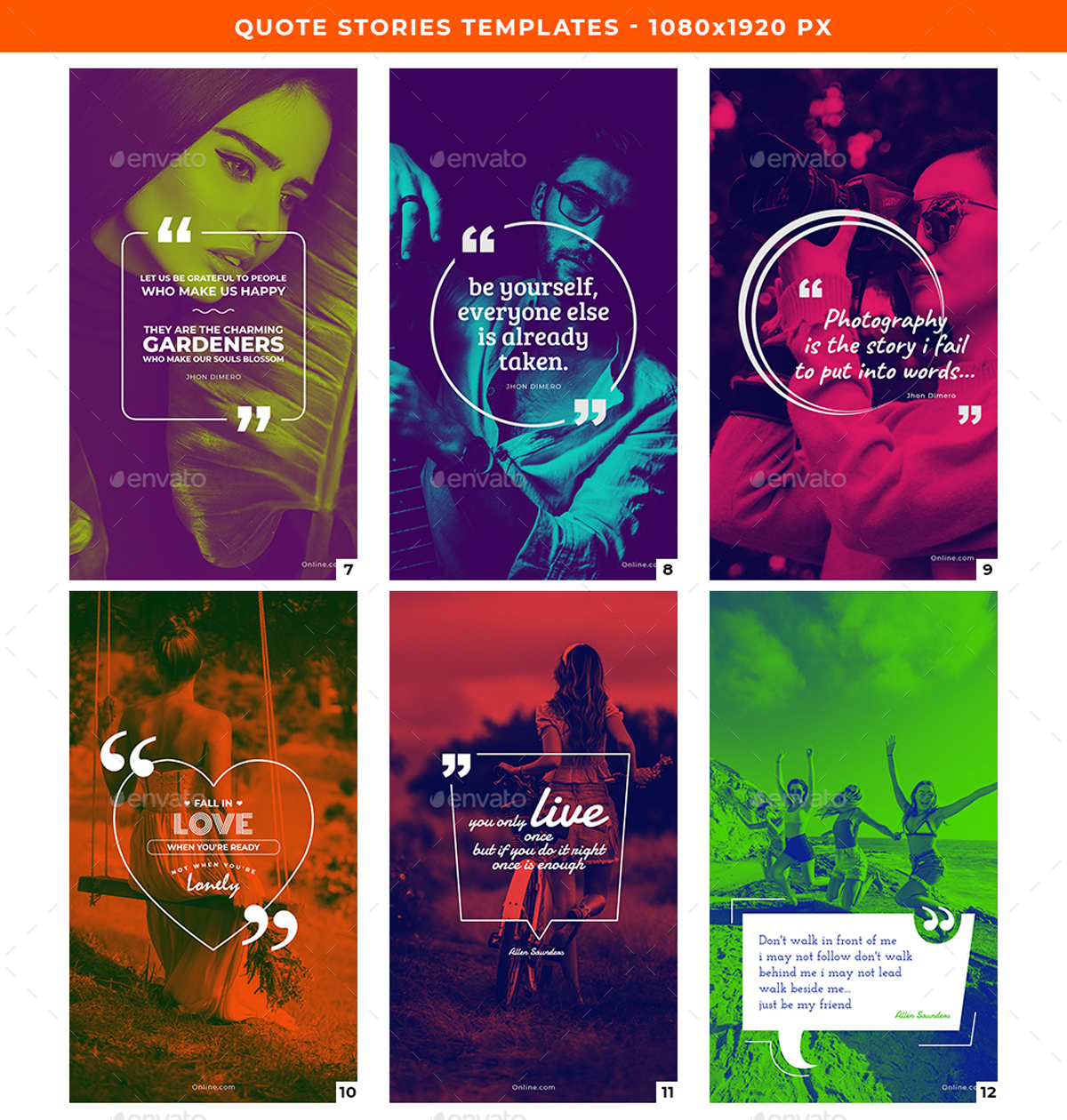 Quote Stories Templates 2648373