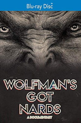Blu-ray cover for the WOLFMAN'S GOT NARDS documentary!
