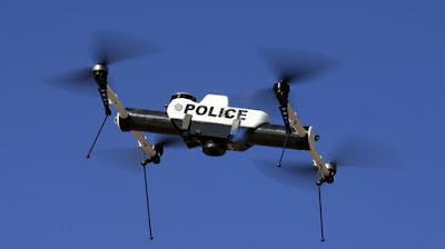 Drone especiaalizado para la policia Puerto Vallarta