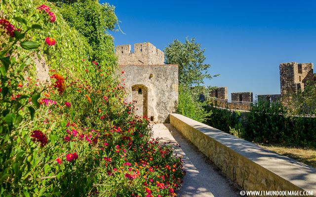 Castillos-de-Portugal, caminos de ronda dentro del castillo