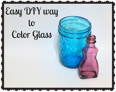 An Easier DIY Way to Color Glass