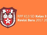 RPP K13 SD Kelas 3 Revisi Baru 2017 2018
