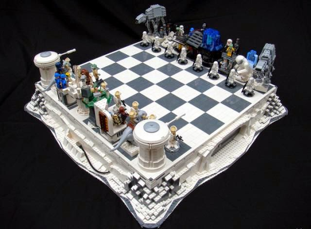 Fantastico ajedrez de Star Wars