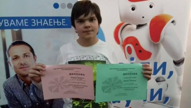 A Boy From Skopje Invented an Application for Autistic Children