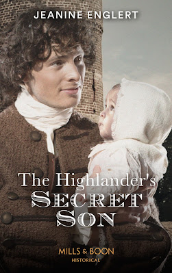 The Highlander's Secret Son by Jeanine Englert book cover Mills & Boon Historical Highland
