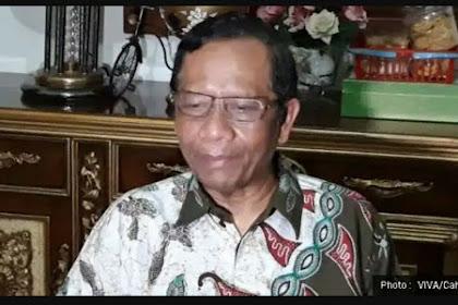 Mahfud MD: Han Ta Akui Jokowi Presiden Indoneh, Meulangga Hukom