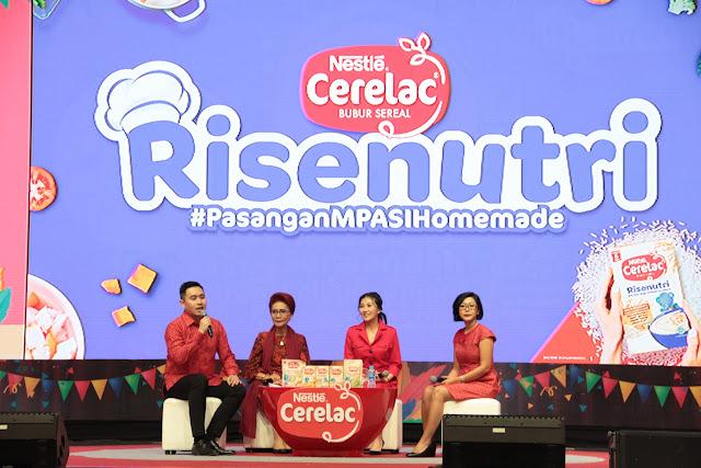 Nestlé CERELAC Hadirkan CERELAC Risenutri