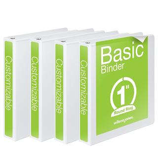 Basic 1 inch Binders
