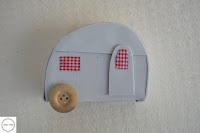 roulotte in gomma crepla e bottoni