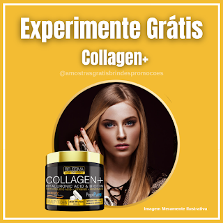 Experimente Grátis Colágeno Capsulas