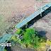 El desbordamiento de un río en Ecuador causa el colapso de un puente