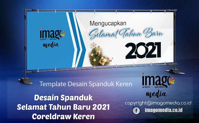 Desain Spanduk Selamat Tahun Baru 2021 Keren