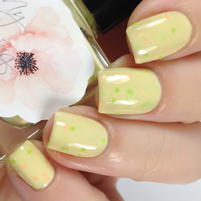 My Stunning Nails-Daffodil's Smile