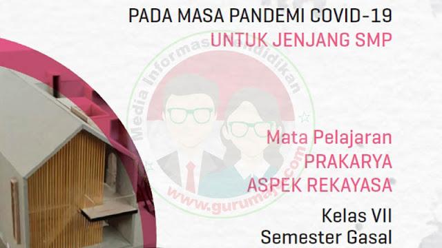 Download Modul PJJ Prakarya Rekayasa Kelas 7 SMP Semester 1
