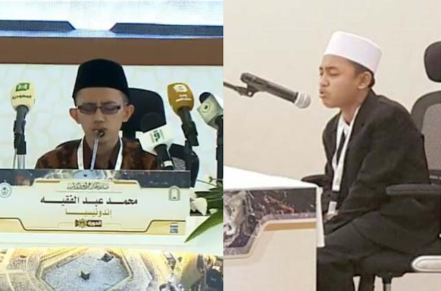 Membanggakan, Dua Santri Indonesia Juara Lomba Hafalan Al-Qur'an Internasional