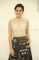 Taapsee Pannu in transparent top at Anando hma theatrical trailer launch ~  Exclusive 015.JPG
