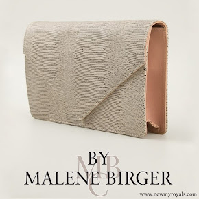 Crown Princess Victoria carried By Malene Birger Koonia Clutch