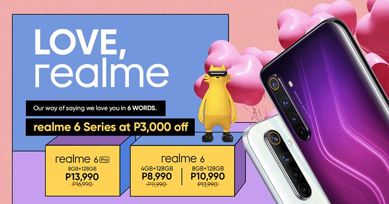 Love, realme price cut!