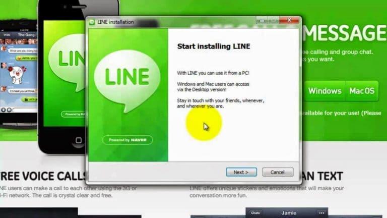 تحميل برنامج لاين للكمبيوتر و للاندرويد مجانا