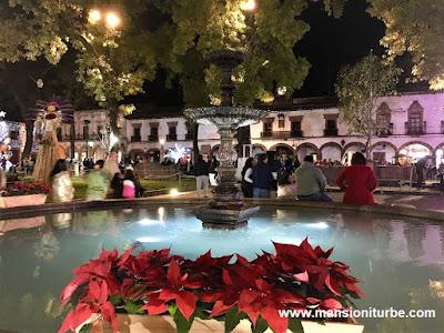 Christmas Season in Patzcuaro at Vasco de Quiroga Square