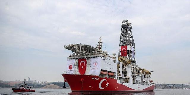 """Ολλανδικό πλοίο με ιταλική σημαία συνοδεύει το γεωτρύπανο """"Γιαβούζ"""""""