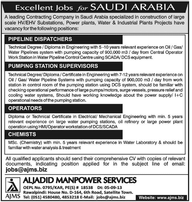 Online PapersPk: Pipeline Dispatchers Pumping Station Supervisors