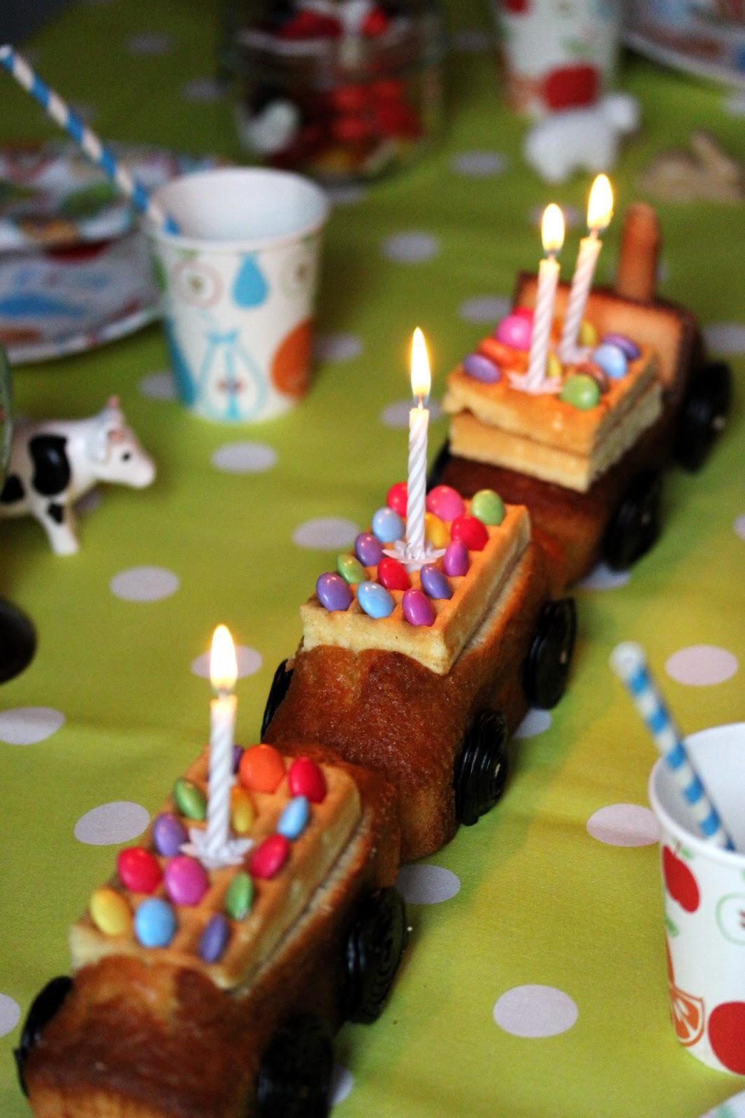 gâteau train enfant